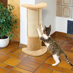 Karlie Škrabadlo béžové rohové elegantné s povrázkom, 29 x 21 x 71 cm