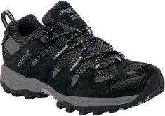 Regatta Dětské boty Regatta GARSDALE Low černo/šedá