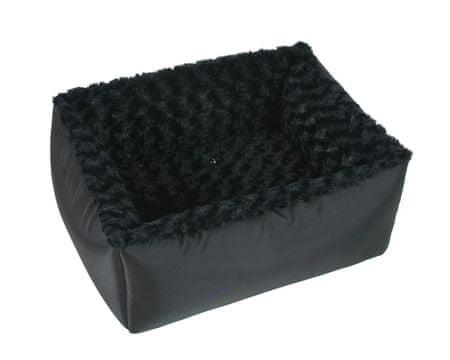 O´ lala Pets ležišče za v avto, 60x45 cm, črno