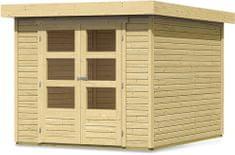 KARIBU dřevěný domek KARIBU ASKOLA 3 (73060) natur