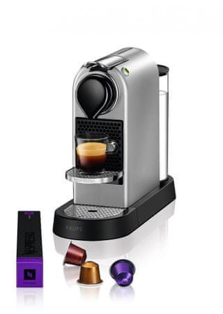 Nespresso Krups Citiz Silver XN741B10