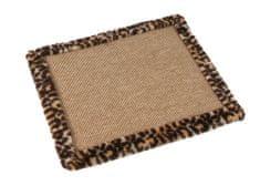 O´ lala Pets zaštitni tepih, 90x50 cm leopard