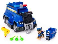 Spin Master Paw Patrol Veľké policajné auto s efektmi a motorkou