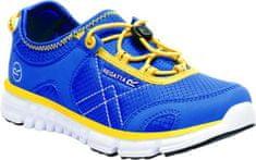 Regatta Dětské boty Regatta PLATIPUS II JNR modrá/žlutá