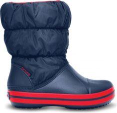 Crocs Dětské zimní boty Crocs WINTER PUFF BOOT tmavě