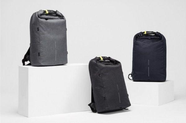 Siguran gradski ruksak za prijenosno računalo XD Design Bobby Urban Lite