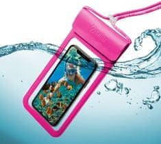 """Celly Univerzální voděodolné pouzdro CELLY Splash Bag 2019 pro telefony 6,5"""", růžové SPLASHBAG19PK"""