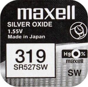 Maxell baterija SR527SW, 1 kos
