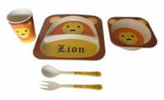 DUE ESSE Dětská jídelní sada LEV, 5 dílná