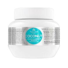 Kallos Vyživujúci maska pre oslabené vlasy Coconut KJMN (Mask)