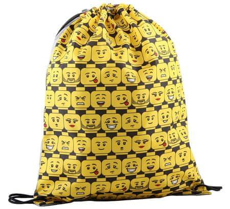 LEGO torba na kapcie Minifigures Heads