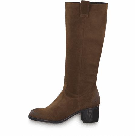 Tamaris ženski škornji, 25565, 37, rjavi