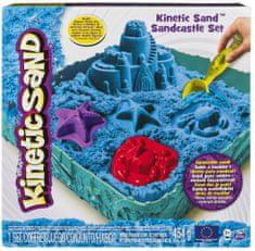 Kinetic Sand Zamek z piasku, niebieski