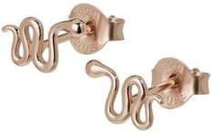 Cluse Náušnice Snake Stud Rose gold CLJ50020 striebro 925/1000
