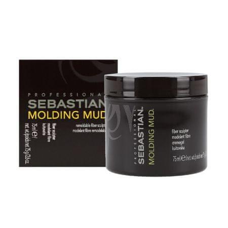 Sebastian Pro. Modelina do włosów grubych, grubych i suchych (Molding Mud) 75 ml