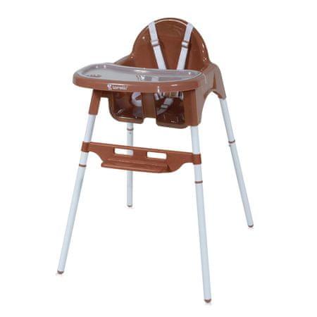 Lorelli Jídelní židlička AMARO BROWN