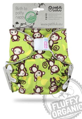 Petit Lulu hlačne plenice na ježka Opice