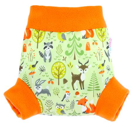 Petit Lulu pull-up svrchní kalhotky Lesní zvířátka S