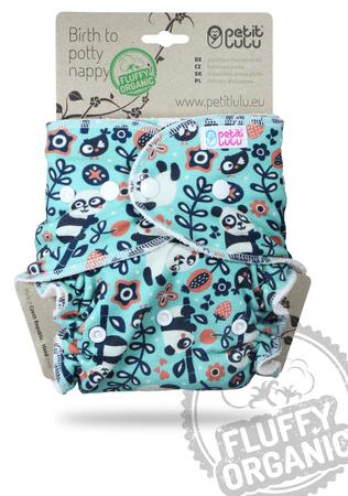 Petit Lulu nohavicová plienka patentky Maškrtné pandy