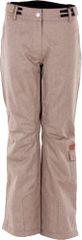 2117 Dámské zimní lyžařské kalhoty 2117 BRAAS hnědá