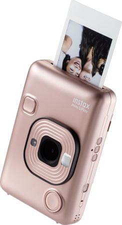 FujiFilm aparat do fotografii natychmiastowej Instax Mini LiPlay EX D Blush Gold