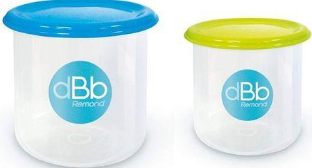 DBB Remond Sada 2 misek ke zmrazení 190 a 300 ml s víčky