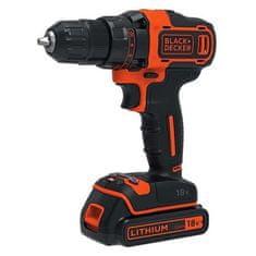 Black+Decker BDCDD186OHA 18 V, 1,5 Ah, set akumulatorske bušilice/odvijača