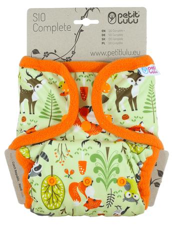 Petit Lulu SIO hlačne plenice, gozdne živali