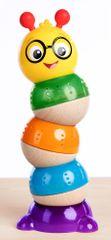 Baby Einstein Hračka dřevěná stohovatelná Balancing Cal HAPE 12m+