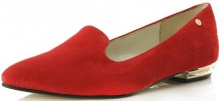 Bosccolo dámské baleríny 40 červená