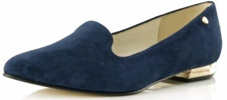 Bosccolo dámské baleríny 37 modrá