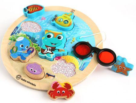 Baby Einstein Hračka dřevěná puzzle Submarine Adventure HAPE 18m+