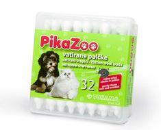 PikaZoo vatirane palčke, 32 kos
