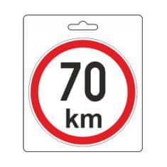 Compass Samolepka omezená rychlost 70km/h (110 mm)