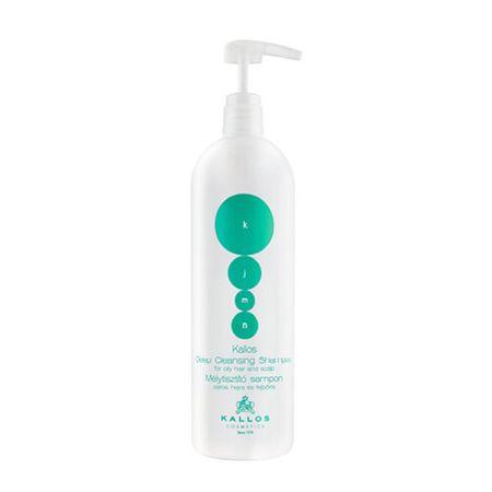 Kallos Mélyen tisztító sampon zsíros hajra és fejbőrre (Deep-Cleaning Shampoo) KJMN (Deep-Cleaning Shampoo (mennyiség 1000 ml)