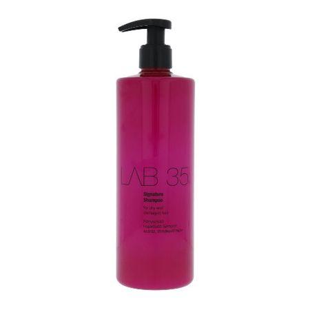 Kallos Regeneráló sampon száraz és sérült hajra LAB 35 (Signature Shampoo) (mennyiség 500 ml)