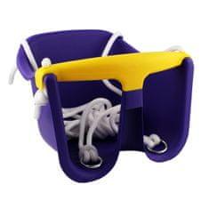 Cheva detská hojdačka Baby plast - fialová