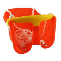 Cheva detská hojdačka Baby plast - oranžová