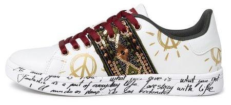 Desigual Shoes Cosmic Exotic ženski čevlji, 39, beli