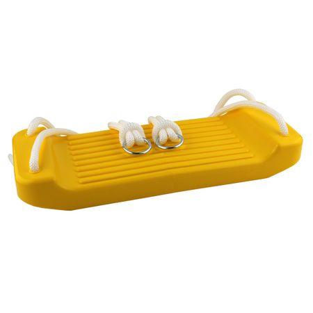 Master dětská houpačka rovná plast - žlutá