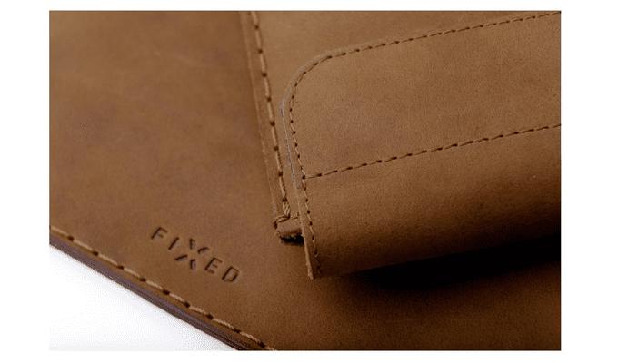 FIXED Oxford pro Apple i pad pro 11, hnědé FIXOX-IPA13-BRW hovězí kůže kvalitní materiál