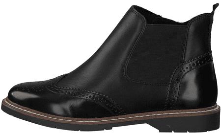 s.Oliver dámska členková obuv 25444 36 čierna