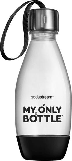 SodaStream Lahev 0,6 l My only bottle černá