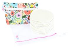 Petit Lulu Súprava: vložky do podprsenky 6 párov + vrecúško na pranie a taštička