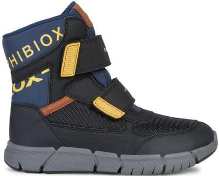 Geox Flexyper fantovski zimski škornji, črni, 34