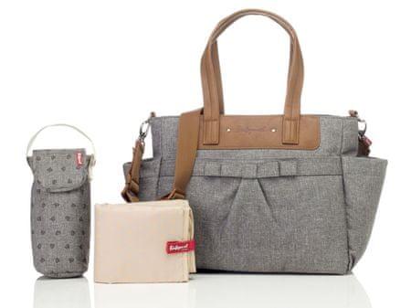 BABYMEL Cara Bloom přebalovací taška Grey