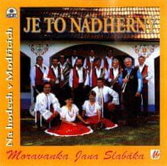 Moravanka: Je to nádherný - CD
