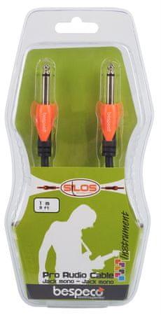 Bespeco SLJJ100 Nástrojový kábel