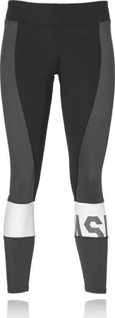 Asics ženske hlače Color Block 7/8 Tight W, crno sive, XS