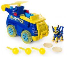 Spin Master Paw Patrol Rychle měnící se vozidla superhrdinů - Chase